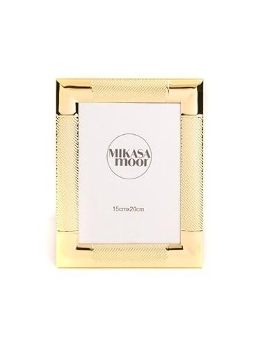 Mikasa Moor Gold Dokulu Çerçeve 15x20cm Altın